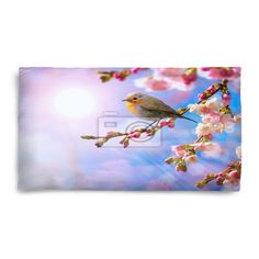 Abstract Spring Border Background With Pink Blossom Fleece King Pillow Case at http://www.visionbedding.com/abstract-spring-border-background-with-pink-blossom-fleece-king-pillow-case-p-3325212.html  #Home Decor,#Abstract Spring Border Background With Pink Blossom Fleece King Pillow Case