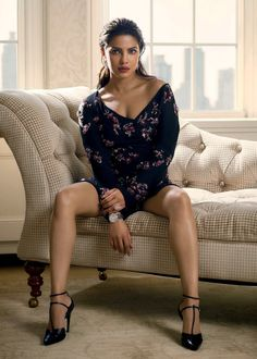 "Photo from album ""Фотосессия Priyanka Chopra (Harper's Bazaar India, сентябрь on Yandex. Actress Priyanka Chopra, Priyanka Chopra Hot, Anushka Sharma, Bollywood Actress Hot Photos, Bollywood Fashion, Indian Celebrities, Bollywood Celebrities, Sexy Legs And Heels, Beautiful Indian Actress"