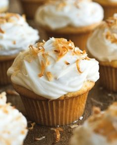 Coconut Cupcakes with Cream Cheese Frosting | Williams-Sonoma Taste
