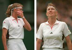 Steffi Graf, Match Point, Tennis Stars, Tennis Players, Wimbledon, Polo Shirt, Polo Ralph Lauren, Mens Tops, Shirts