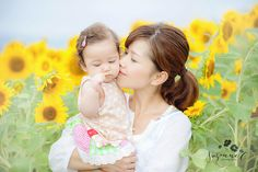 Family sunflower pictures