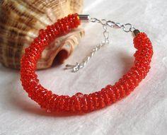 Spiralna czerwona w Atelier Decou na DaWanda.com