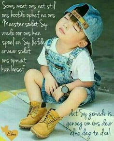 Sy genade is genoeg vir elke dag. Bible Quotes, Qoutes, Evening Greetings, Afrikaanse Quotes, Goeie Nag, Goeie More, Thank You God, Prayer Board, Special Quotes