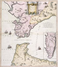 Aaron Cardozo was the youngest son of Jacob Cardozo Nuñez one of the original group of Jews who had returned to Gibraltar in 1719 two years after their expulsion from the Rock in accordance with the stipulations laid down by the Treaty of Utrecht. Contemporary map showing Larache on the west coast of Africa just South of Tangier. Aaron's elder brothers, Isaac, David and Abraham seem to have lived in Larache as they took care of the Moroccan side of the business from here