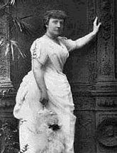 """Frances Hodgson Burnett (1849-1924) When she was sixteen, she was brought from England to Tennessee by her fatherless, poverty stricken family. There she started to write stories in a cold little attic room, and they eventually made her rich and famous. She published over fifty books, but the most beloved are Little Lord Fauntleroy, The Secret Garden, and Little Princess. She said of herself, """"With the best that was in me, I have tried to write more happiness into the world."""""""