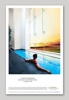 hotel advertising Lodha Belmondo - Luxury Resort Living on Behance Real Estate Advertising, Real Estate Ads, Real Estate Flyers, Real Estate Marketing, Luxury Real Estate, Hotel Advertisement, Hotel Ads, Property Ad, Interior Design Presentation