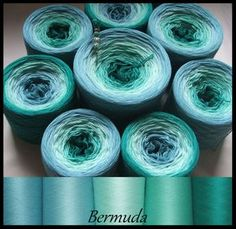 """Bermuda"" BW/Seide 4-fädig"