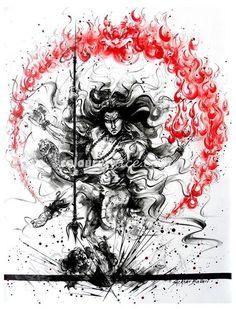 Shiva   Colourentice by Shekhar Ballari
