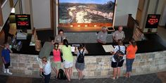 Canyon Region - Canyon Visitor Education Center. Interactive exhibits for kids