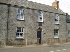 Birthplace of Sir Henry Irving, Keinton Mandeville, Somerset, England