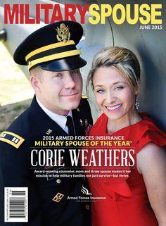 http://militaryspouse.com/ Military Spouse Magazine June 2015