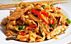 Cooking Recipes, Healthy Recipes, Pasta Salad, Family Meals, Chicken Recipes, Food And Drink, Ethnic Recipes, Asian Recipes, Essen