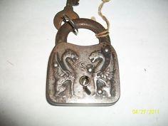 vintage lock | VINTAGE LOCKS PAD LOCKS WITH KEYS HARDWARE DRAGONS Completed