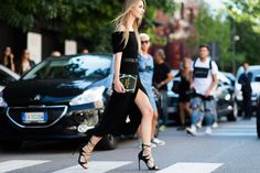 Best Street Style at Milan Fashion Week Street 2013 - Elle and Tyler Joe