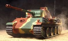 German Panther Tank - Tamiya R/C Version.