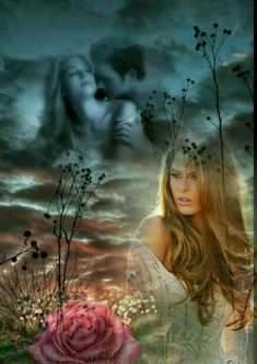 Beautiful Romantic Pictures, Romantic Gif, Romantic Images, Beautiful Gif, Double Exposition, Double Picture, Picture Mix, Photo Illustration, Digital Illustration