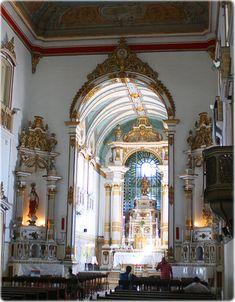 Arquitetura Igreja Nossa Senhora da Vitoria - Salvador - Bahia