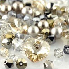 Swarovski Elements crystal mix - vintage