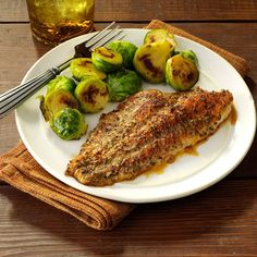 Zesty Baked Catfish Recipe -This catfish combines common pantry seasonings for a taste that's anything but basic. —Karen Conklin, Supply, North Carolina
