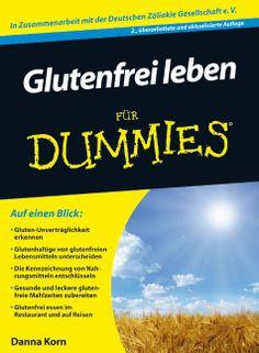 Boncibus - Buch - Glutenfrei leben für Dummies  http://boncibus.com/de/book/zoeliakie-information/glutenfrei-leben-fur-dummies-2 #glutenfrei #gf #Boncibus #zöliakie