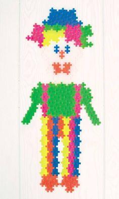 Køb Plus Plus MINI - 1200 stk i pose - Neon farver - 2 cm. online - Plus Plus Plus Plus Modele, Plus Plus Construction, Puzzle, Spongebob, Mini, Preschool, Inspiration, Design, Hama