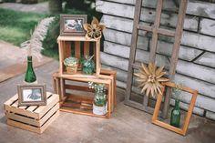 Wedding Blog, Wedding Reception, Reception Ideas, Rustic Bohemian Wedding, Garden Wedding, Ladder Decor, Romance, Frame, Ph