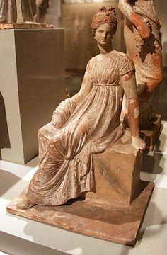 Arte: Danza y escultura.: Escultura griega.