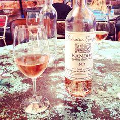 Killer, killer rosé. Love you, Bandol.