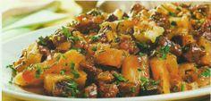 Culinária Passo a Passo: Carne de Panela com Mandioca