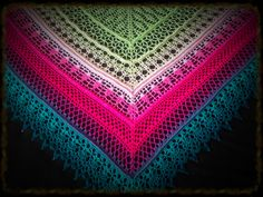 Edlothia Shawl By Jasmin Räsänen - Free Crochet Pattern - (ravelry)