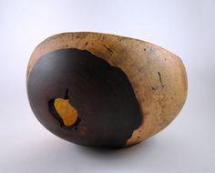Wood Bowl No120921  Cocobolo Natural Edge by conreysa on Etsy, $85.00