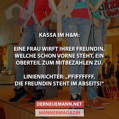 Kassa im H&M #derneuemann #humor #lustig #spaß