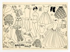 78.6423: paper doll | Paper Dolls | Dolls | National Museum of Play Online Collections | The Strong