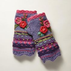 Fleece-Lined Floral Wool Handwarmers POSIE HANDWARMERS Record of Knitting Wool spinning, weaving and stitching jobs such as for example BC. Knitting Wool, Baby Knitting, Knitting Patterns, Knitting Tutorials, Hat Patterns, Free Knitting, Stitch Patterns, Fingerless Mittens, Knit Mittens