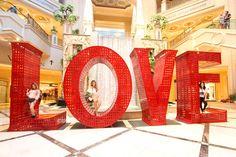 Love statue, Venetian Las Vegas.