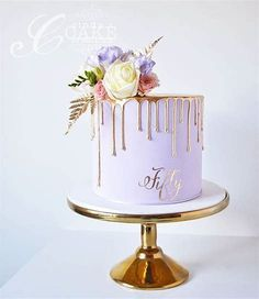 Image Result For Elegant Buttercream Birthday Cakes Women 50th Cake Mom Purple