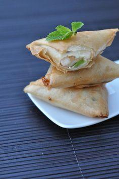 Les briouates de poulet menthe et fromage |Lovalinda x Cuisine