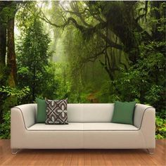 Cheap wall murals wallpaper, Buy Quality photo mural wallpaper directly from China mural wallpaper Suppliers: Custom Wall Murals Wallpaper Primeval Forest Large Wall Painting Modern Living Room TV Background Decor Photo Mural Wallpaper Forest Wallpaper, Home Wallpaper, Custom Wallpaper, Cheap Wallpaper, 3d Wallpaper For Walls, Scenery Wallpaper, Adhesive Wallpaper, Print Wallpaper, Wallpaper Wallpapers