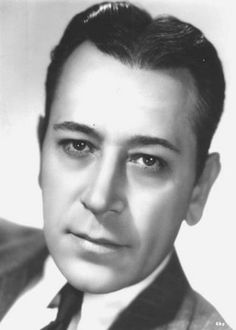 old movie stars photos | George Raft — Dancer, Actor, Leading Man & Mobster ...