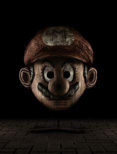 Escultura do Mário de Madeira, incrível!!!