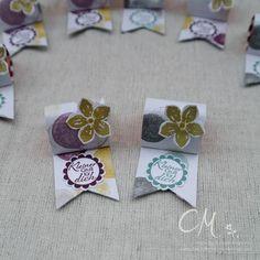 Kleine Goodies für meine Gäste – Caros Bastelbude