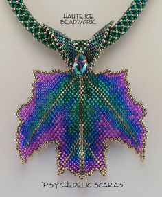 "HAUTE ICE BEADWORK: ""Aflame"" and Friends"