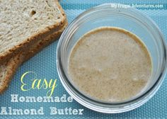 Got to try this! Almond Butter is my obsession right now but way too expensive for a small jar- Easy Almond Butter Recipe {Healthy and Delicious!}
