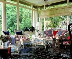 If you grew up in the 1990s, you'll be all too familiar with these strange decorating trends of the past. See how many of these styles you had in your childhood home to find out how much of a '90s kid you really were. Hunter green, way too many frills, wicker furniture overload, crazy amounts of pattern, decorative painting, wallpaper, murals, and more were all abundant in these homes of the past.