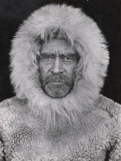 Portrait of Robert E. Photograph by Peary Arctic Expedition, Canada, From National Geographic Image Collection, page 43 (Washington D.: National Geographic Society, Wether Peary was the first man on the North Pole is still disputable. Robert Peary, National Geographic Images, National Geographic Society, Famous Photos, Famous Art, Arctic Explorers, Early Explorers, Polo Norte, Pose