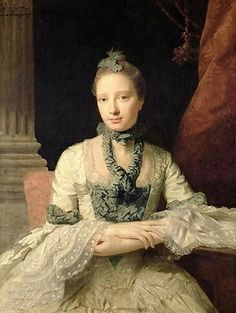 Lady Susan Fox-Strangways, 1761 (Allan Ramsay) (1713-1784)   Private Collection