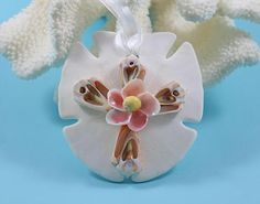 RESERVED Seashell Ornament Beach Decor Christmas Ornament