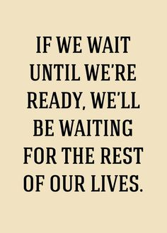 Ready doesn't happen