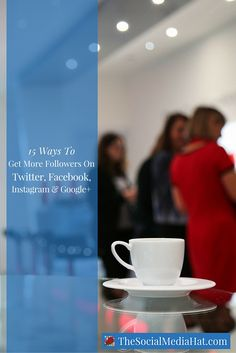 We can tell you how to get more followers on Twitter, how to get more fans on Facebook, and how to get followers on Instagram and Google+. Start here.…