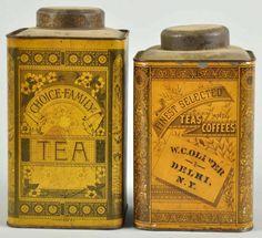 lovely tea tins